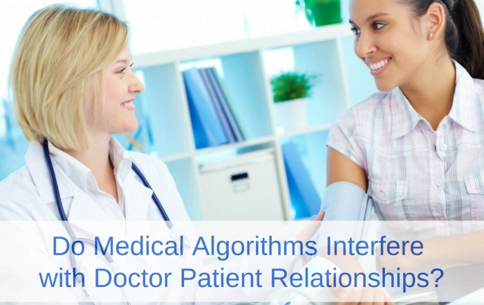 John Svirbely, MD explains how medical algorithms improve doctor patient relationships