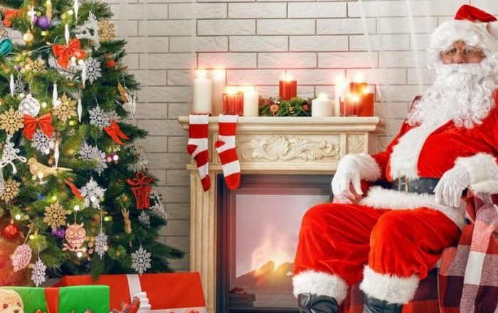 Santa Claus is coming to town -- or the ER!